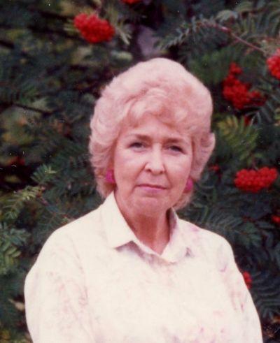 Photo of Betty Singleton Fryer  - 1934-2020